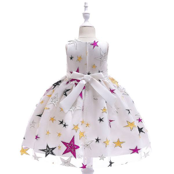 Flower Girl Dresses For Weddings First Communion Dresses For Girls Cap Sleeves Lace Appliques Girls Pageant Dresses
