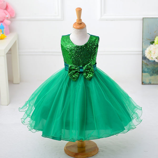 Green Girls Pageant Dresses for Beauty Little Kids Princess Organza Beading Stones Puffy Ball Gowns Flowers Graduation