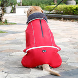Dog Clothes Winter Waterproof Outdoor Pet Dog Jacket Thicken Warm Dog Coat for Small Medium Large Dog Adjustable Pet Clothes 3XL