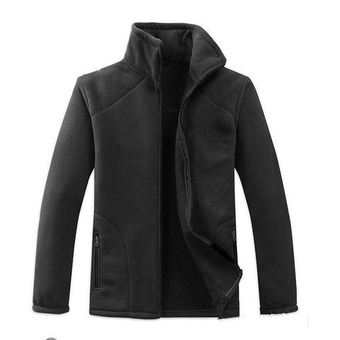 Clothing Military Thick Fleece Jacket Autumn Winter Male Coat Warm Outer and Inner Jacket Camping and Hiking
