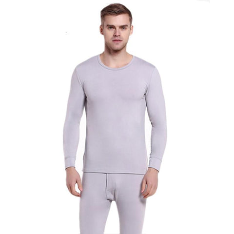 Man Thin Thermal Underwear Set Men Underclothes Solid Thermo Long Johns Suit Male Tights Menswear Set Thermal Long Underpants