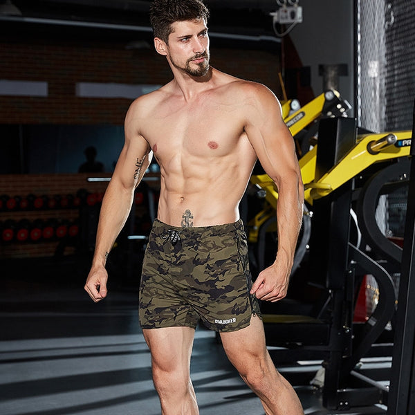 Summer fitness men's breathable sweatpants men's fitness quick dry shorts thin casual shorts gyms shorts joggers shorts