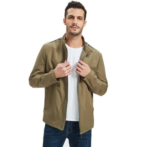 Big Size 4XL 5XL Mens Spring Summer Jackets Casual Thin Male Windbreakers College Bomber Black Windcheater Hommes Varsity Jacket