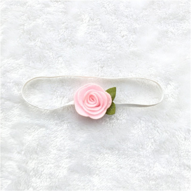 ab00771d507 JOHNKART.COM.  5.11 USD. Rose Flower Hair Bands Newborn Baby Elastic  Photography Props Headband Lovely Headwear Fashion Hair Accessories ...