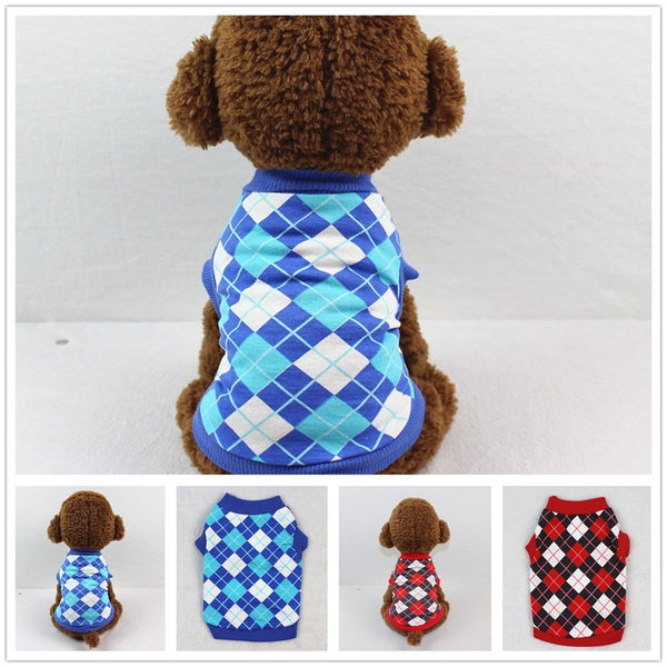 Warm Pet Dog Clothes For Small Dog Cotton Clothing  for Chihuahua Pets Dogs Winter Clothes Pajamas Love Bear Costume L4
