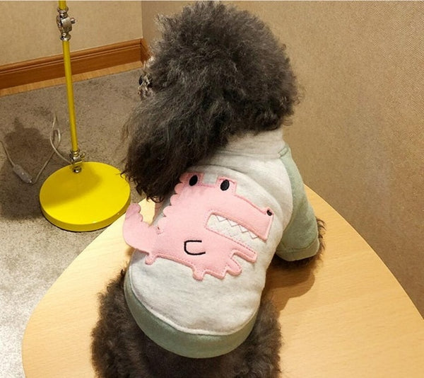NEW Spring Diansour Teddy Bichon Dog Sweatshirt Cat Clothes for Small Pet Shirt XS S M L XL