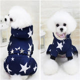 Pet Dog Clothes Coat Winter Warm Outerwear Thicken Dog Costume Clothing Wadded Jacket Pet Cat Products Clothes For Dog Puppy