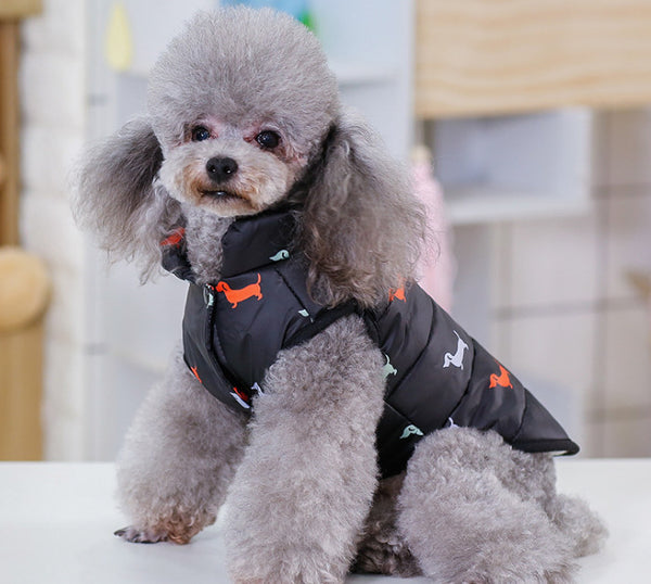 New style Clothes For Dogs Pets Dog Clothes Vest Harness Puppy Cats Coat Jacket Apparel warm clothing winter clothes