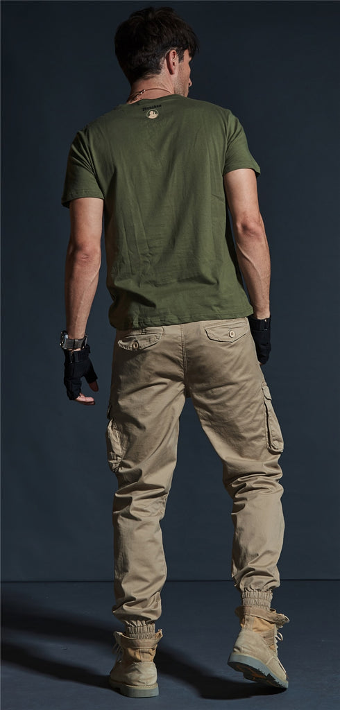 d9edda263d ... Cargo Pants Men Mens Blue Khaki Military Tactical Pants Jeans Denim  Trousers pantalon tactico hombre ...