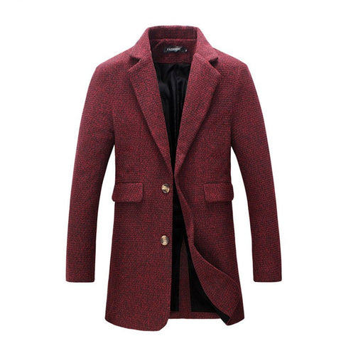 winter new style Men's fashion trench coat  Men high quality jackets blazers Men's leisure windbreaker Free shipping