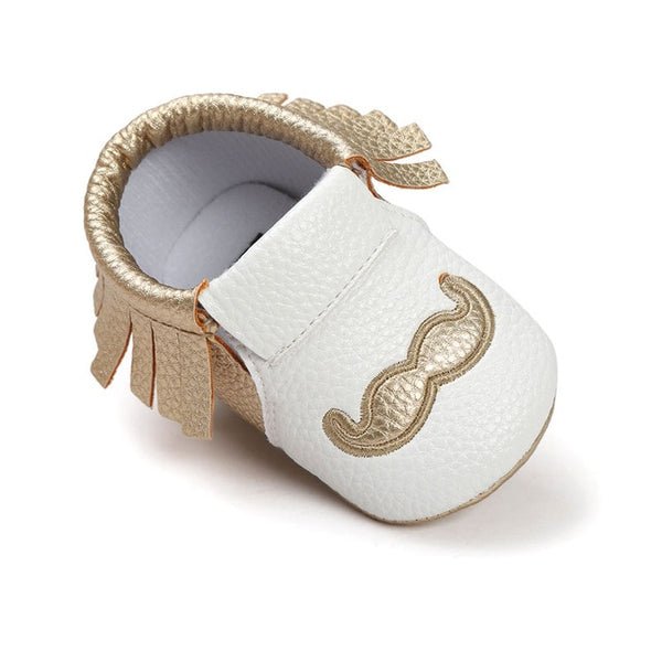 Baby Tassel Shoes First Walkers Anti-slip Footwear Newborn Toddler Slip-on Soft Shoes