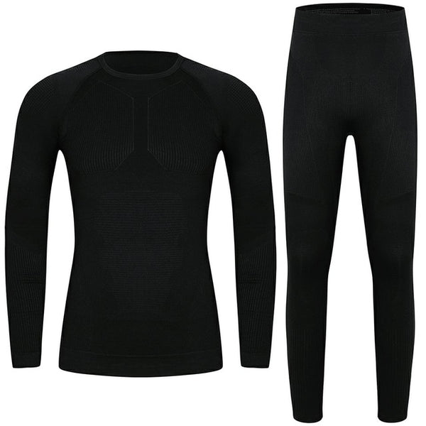 Men's Clothing Long Johns Plus Size Thermal Underwear Men Winter Warm Two Piece Set Sexy Quick Dry Men Clothes 2018