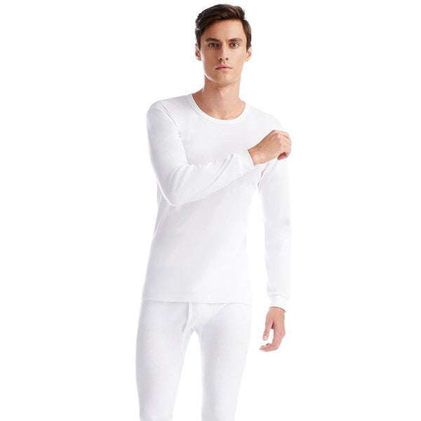 Thermal Underwear Sets Men Cotton Soft Comfortable Long Johns Warm Thermal Underwear Bottoming Undershirts Trousers Man