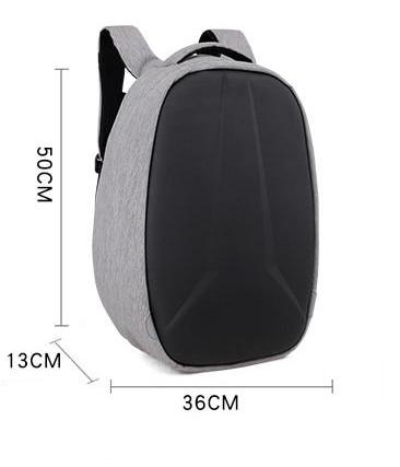 28L Hard Shell Backpack Men Women Mochila School Bags Business Safety For 15.6 inch Laptop with USB Charging Port