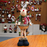 Santa Claus Doll For Xmas Decor Christmas Decorations For Home Snowman Deer Doll Decoration New Year Decorations Drop Ornaments