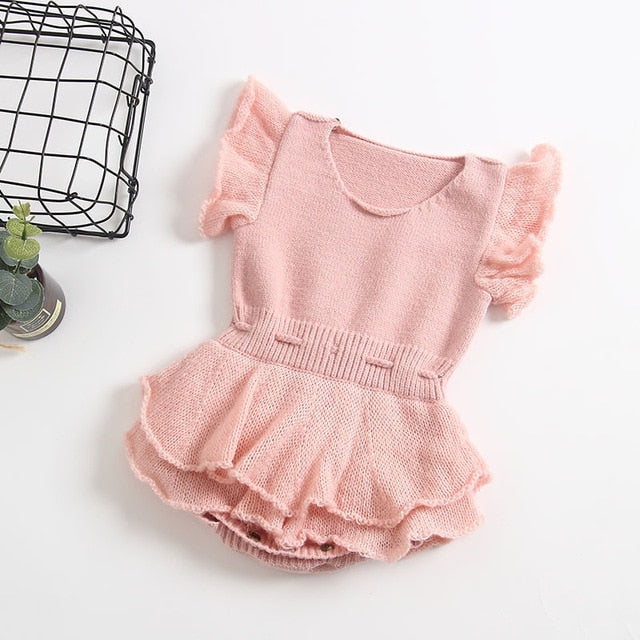 ca14de3ce9559 JOHNKART.COM. $23.77 USD. Baby Rompers Newborn Knitted Baby Clothes ...