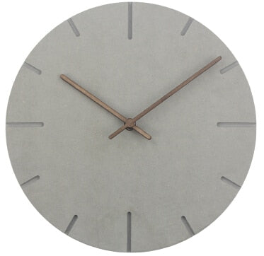 Wood Wall Clock Simple Modern Nordic Minimalist Silent Clocks Artistic European Brief Wooden Wall Watch Home Decor
