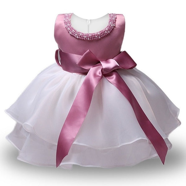1 Year Toddler Girl Baptism Dress Baby Girl  Birthday Dresses For Girls Kids Wedding Party Wear Newborn Baby Christening Gowns