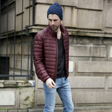 2018 Mens Autumn Jackets Light and Thin Style Winter Duck Down Warm Outwear Stand Collar Portable Male Casual Slim Coats 2XL 3XL