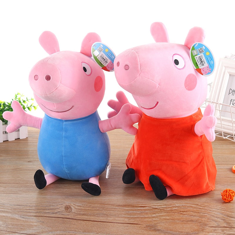 Toy Peppa George Pig Family Party Dolls Christmas Christmas gift For Girl