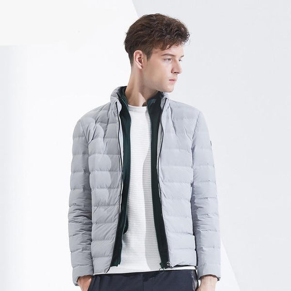 men's down jacket stand collar cold winter short jacket new casual outerwear B80131015