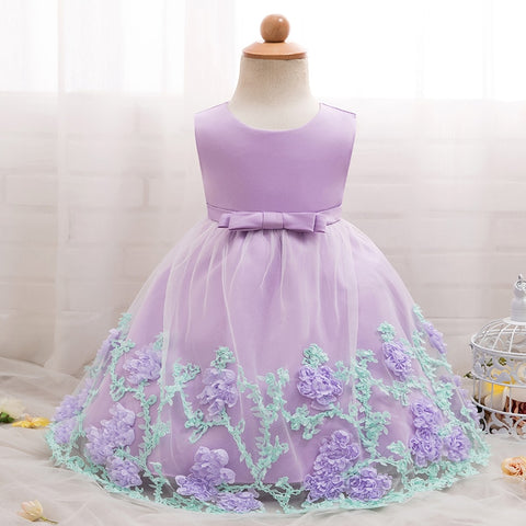 vintage Baby Girl Clothing Dresses for Girls Baptism 1st year Birthday Party Wedding Christening Gown Infant Clothing Bebes