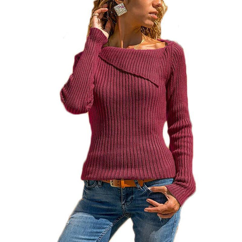 cc7c0d88435 Women Sweater Plus Size 5XL Slim Casual Sweater Women Pullover Knitted  Autumn Winter Basic Casual Sweaters
