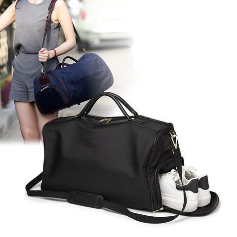 Bag Fitness Sport Bag Rucksack Shoulder Crossbody Bag Women Tote Handbag Travel Duffel Bolsa Pack Luggage Travel Bags