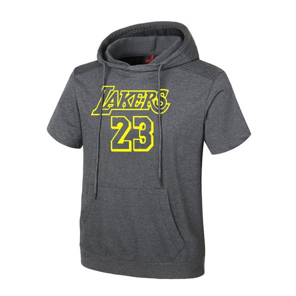 USA Basketball sports Hoodies printing jersey Durant/Curry/James/Paul training suit Hooded loose hooded short-sleeved Sweatshirt