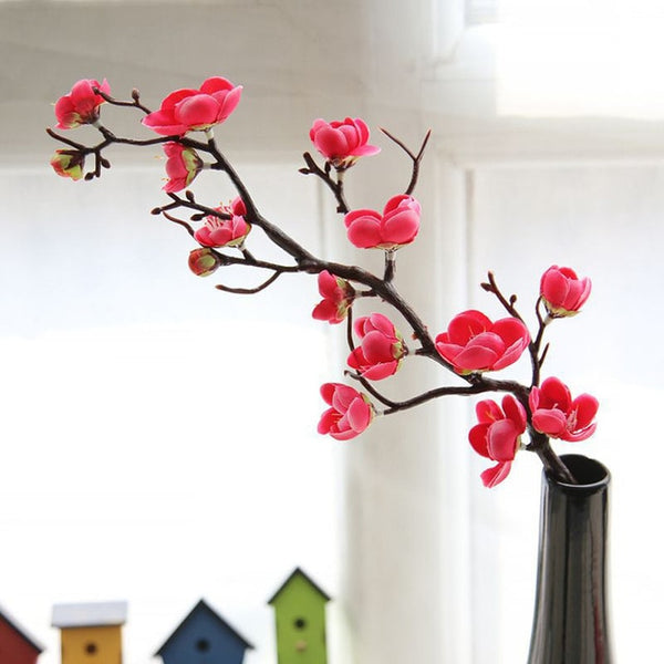 Artificial plum blossom floral arrangement Cherry Blossoms Home Decoration Wedding Fake Flowers arreglos florales Sakura L4
