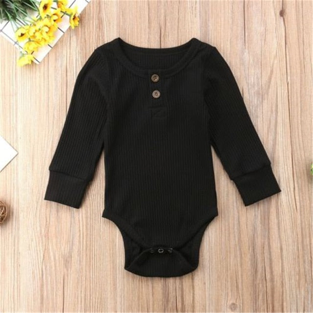09e130d4b JOHNKART.COM. $14.99 USD. Newborn Infant Baby Boys Girls Romper Cotton  Bottons Jumpsuit Playsuit Clothes Toddler Kids Autumn Rompers ...