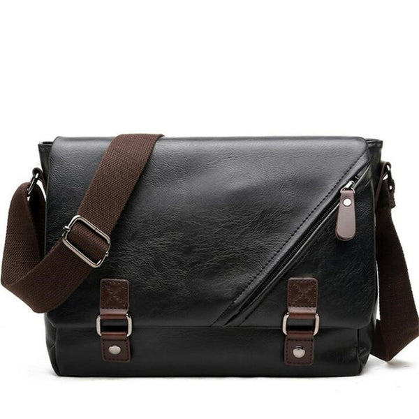 Designer Handbags Men'S Bag Pu Leather Messenger Bags Men Travel School Bags Leisure Crossbody Bags For Men