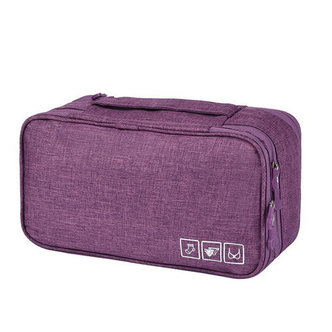 Frosted Series Travel accessories Bra storage bag Brassiere Underwear Underclothes Clothing sock Organizers Packing box