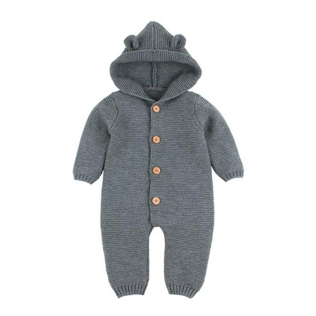 c9a831c15324 Baby Boys Girls Knitted Rompers Winter Newborn Girls Christmas ...