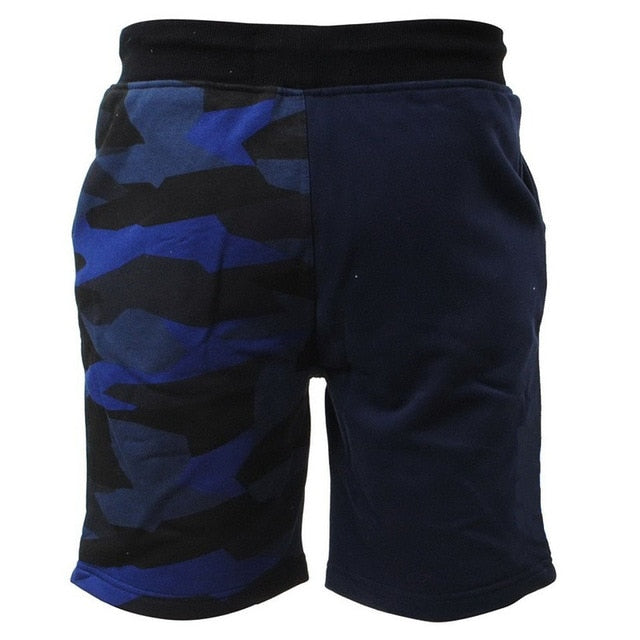 Camouflage Shorts Mens Military Style Casual Shorts Men's Summer Beach Shorts New Fashion Streetwear Elastic Waist
