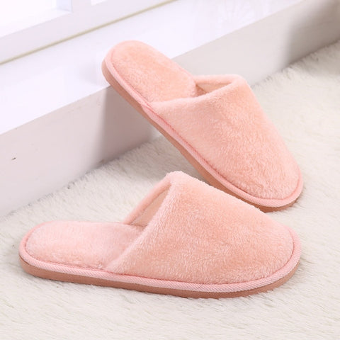 03c0c547a9134 Candy color Warm Home Slippers Women Bedroom Winter Slippers Indoor Slippers  Cotton Floor Slippers drop shipping
