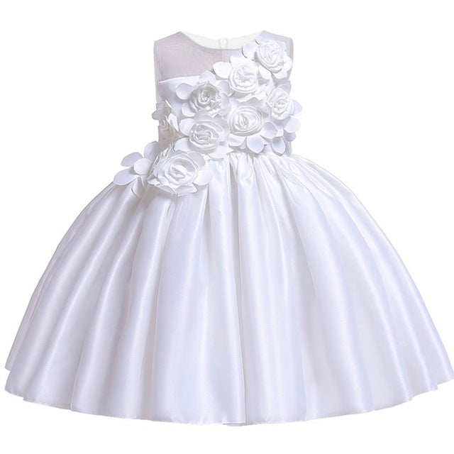 196094861f2 ... Baby Girl Princess Dress Kids Party Dress of Girl Toddler Children  Summer Sequins Wedding tutu dress ...
