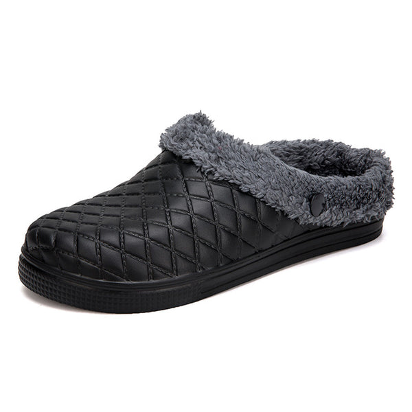 Winter Women House Slipper Shoes Women & Men Fur Home Plush Slippers Ladies Fur Slides Shoes Woman Slippers Female 1802