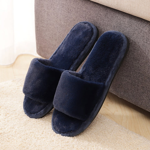 word wool solid bottom of the heart winter indoor and outdoor homes warm wool non-slip thick cotton slippers fashion