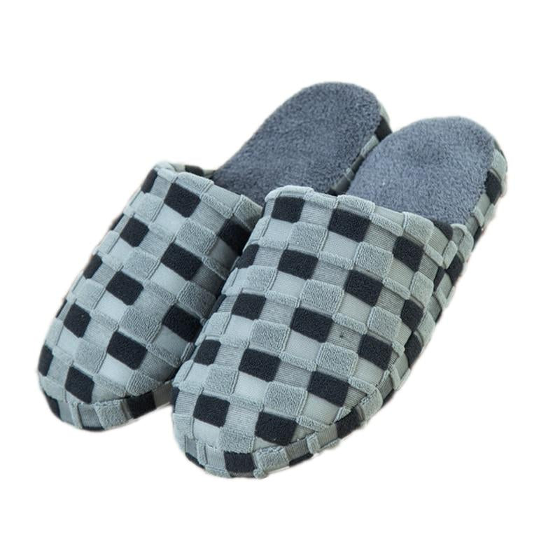 New Autumn and Winter Warm Men slippers Cotton-padded Lovers at house Family Home Slippers indoor shoes