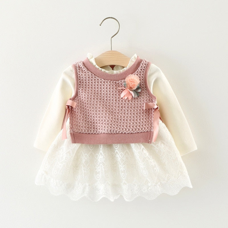 e4e21b285e84 Baby Girl Clothes Infant Clothing New Baby Girl Dress Bodysuit Lace ...