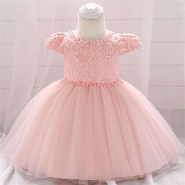 Summer Baby Girls Dress For Girls Princess Dress Infant Wedding First Birthday Girl Party Dress Clothes Clothing 6 12 Month