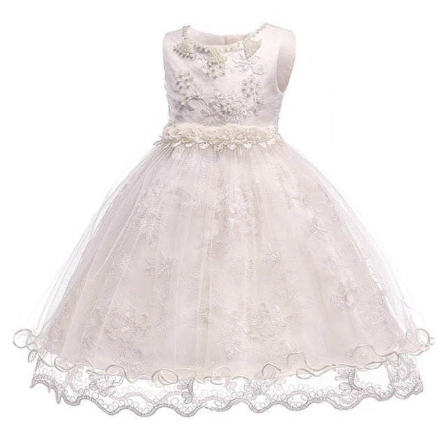 3f967440035c3 JOHNKART.COM. $28.99 USD. Baby Girl Dress Clothes Wedding Princess Dresses  For Girls Kids Christening 2 1 Years First Birthday ...