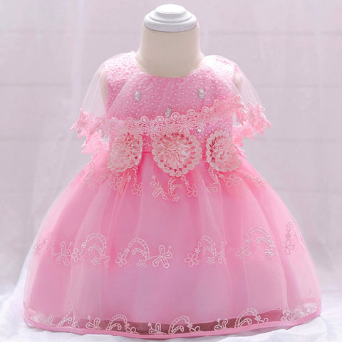 Girls Dresses Flower Baby Girls Princess Dress Tutu Dress Print Sleeveless Formal Clothing Dresses