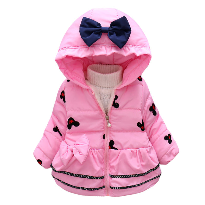 ed94f863821 Infant Girls Coat and Jacket Autumn Winter Jackets For Baby Girls Jacket  Kids Warm Outerwear Coats For Baby Newborn Clothes
