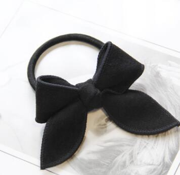 Free Shipping Young Girls Cute Bows Scrunchy Children Hair Bands