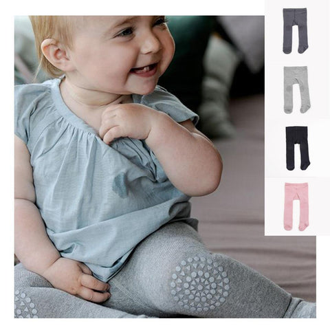 63a6fbb7804f9 Cute Toddler Infant Newborn Baby Girls Boy Floral Cotton High Waist Long  Pants Stretch Warm Leggings