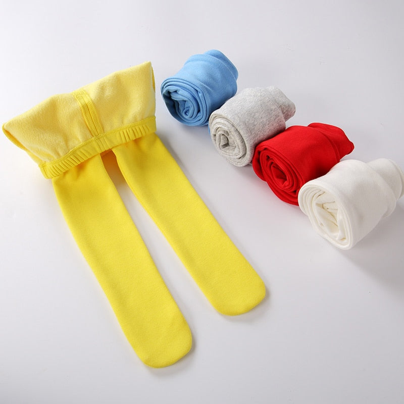 14a55f2a74cda7 Baby pants winter thick warm infant leggings kids clothes footies pant boy  girls pants fleece baby ...