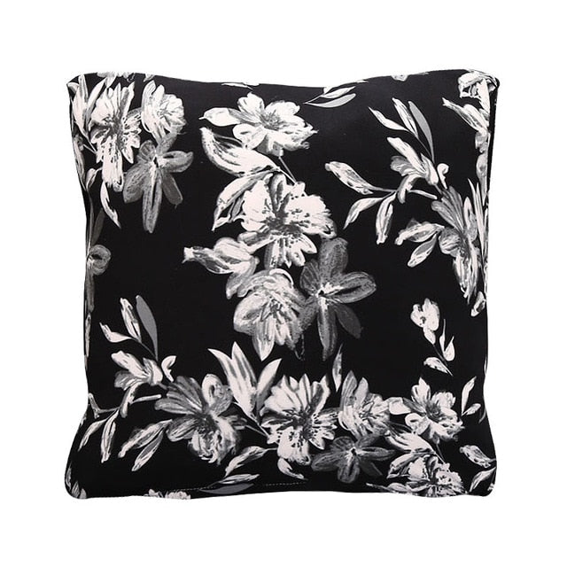 45*45cm Elastic Cushion Include Pillow Inner Throw Seat Cushion Car Home Decoration Sofa Decor Decorative 1 PC