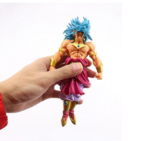 Dragon Ball Z Broli Broly Super Saiyan Standing Version PVC Action Figure Goku Fighting Collectible Model Toys For Children #EE